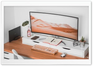 LG Ultrawide Curved Monitor,...