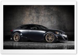 Lexus IS F Black Tuning