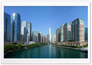Chicago River Panorama