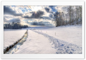 Winter Scenery, HDR