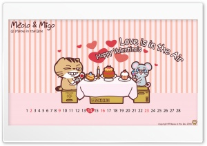 Meolo Valentines Day - Meow...