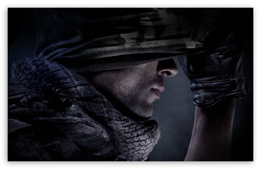 Download Call of Duty Ghosts video game UltraHD Wallpaper