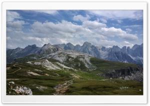 Rosengarten Mountain range in...