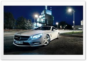 Mercedes Benz SL500, Night