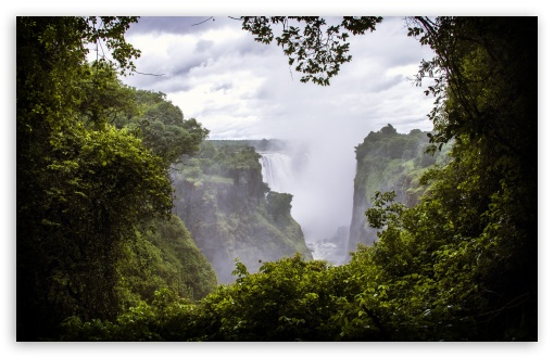 Download Victoria Falls, Zimbabwe UltraHD Wallpaper