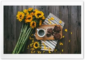 Sunflowers, Coffee Mug,...