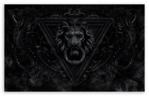 Download Dark Gothic Lion UltraHD Wallpaper
