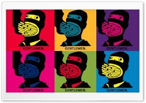 Gentlemen Pop Art