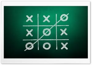 Tic-Tac-Toe Game Green...