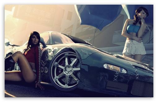 Download Need For Speed Pro Street UltraHD Wallpaper