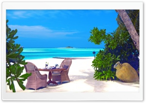 Romantic Tropical Lunch