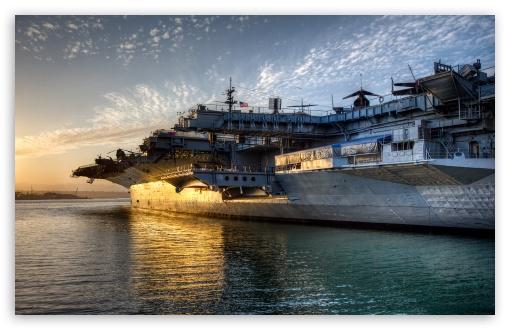 Download USS Midway UltraHD Wallpaper