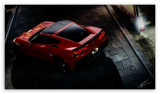 Download Chevrolet Corvette UltraHD Wallpaper