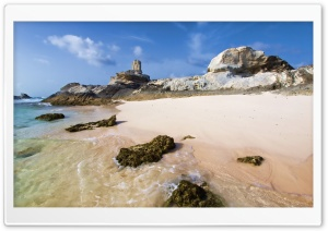 Rocky Deserted Beach
