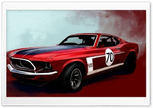 Ford Mustang Boss 302 Classic...