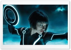 Tron Legacy, Olivia Wilde As...