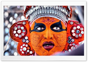 Theyyam Oil Painted HD