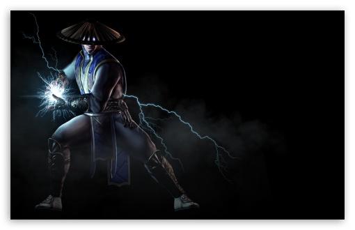 Download Mortal Kombat X Raiden, the God of Thunder... UltraHD Wallpaper