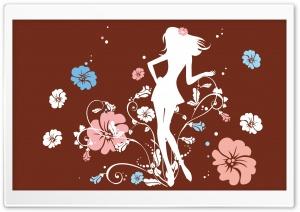 The Flower Girl Brown