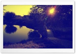 Purplish Landscape