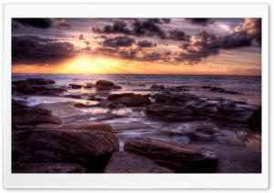 Ocean Sunset, HDR