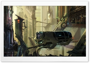 Science Fiction Painting