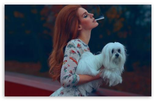 Download Lana Del Rey - National Anthem UltraHD Wallpaper