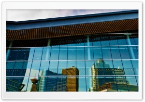 Convention Centre Reflection