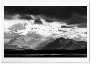 Mountains Black and White...