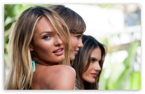 Download Candice Swanepoel Victorias Secret UltraHD Wallpaper