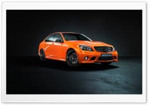 Mercedes Benz C63 Orange