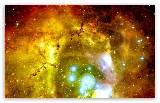 Download Rosette Nebula UltraHD Wallpaper