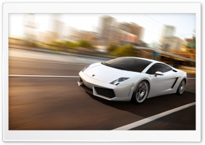 Lamborghini Gallardo LP560 White