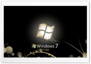 Windows 7 Ultimate Bright Black