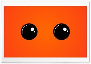 Eyes - Vivid Orange