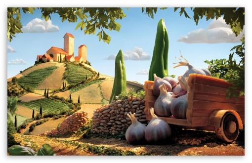 Download Carl Warner Food Landscape UltraHD Wallpaper