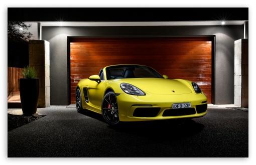 Download 2016 Porsche Boxster UltraHD Wallpaper