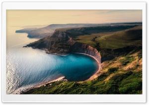 Sea Bay, Coast, Cliffs,...