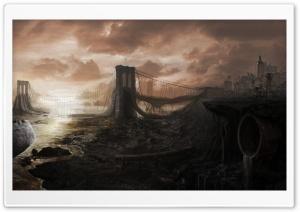 Brooklyn Bridge Ruins
