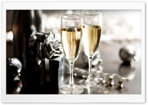New Year's Eve Champagne