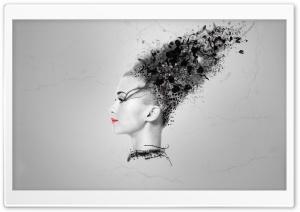 Abstract Woman Head
