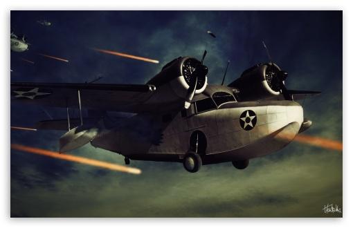 Download Planes in War UltraHD Wallpaper