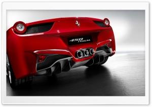 2010 Ferrari 458 Italia Rear