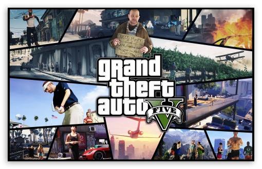 Download Grand Theft Auto V 2012 UltraHD Wallpaper