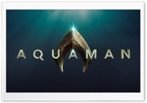2018 Aquaman Movie Logo