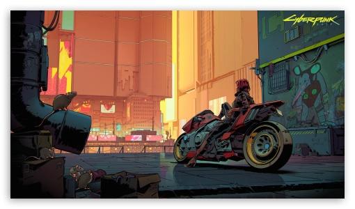 Download Cyberpunk 2077 UltraHD Wallpaper