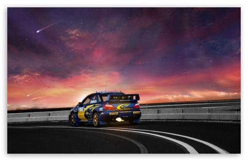 Download Subaru Road UltraHD Wallpaper