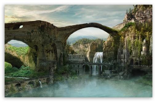 Download Lost City UltraHD Wallpaper