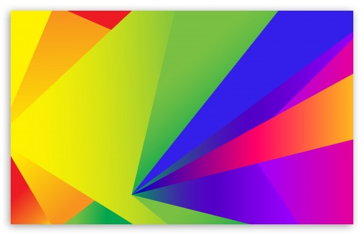 Download Colorful Abstract Geometric Shapes Design UltraHD Wallpaper