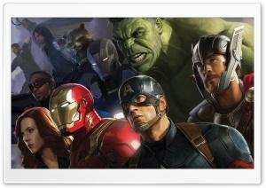 Avengers Infinity War Superheros